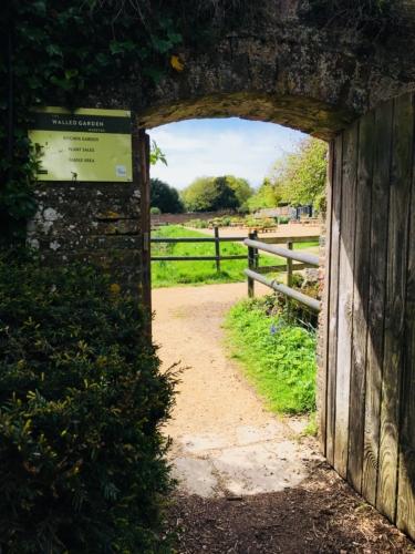 Walled Garden Moreton entrance to kitchen garden