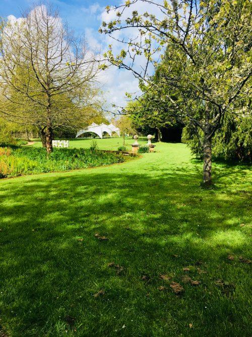 Walled Garden Moreton lawn