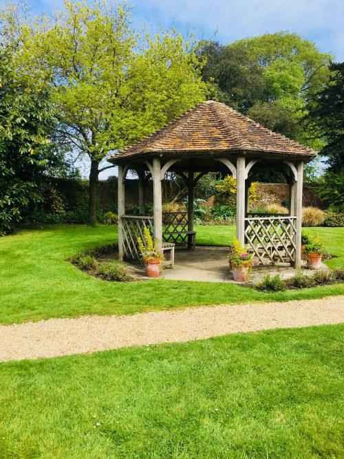 Walled Garden Moreton pavilion