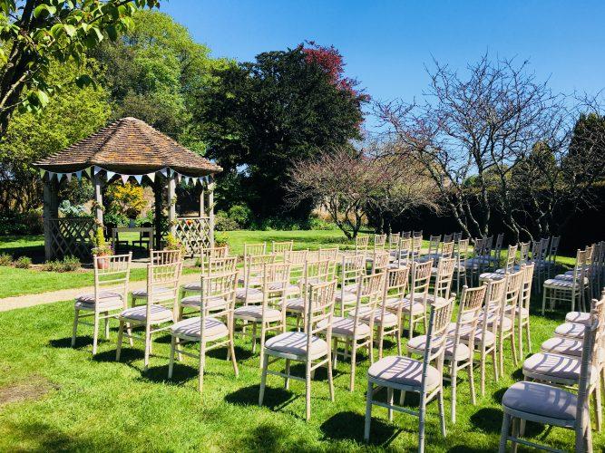 Walled Garden Moreton wedding