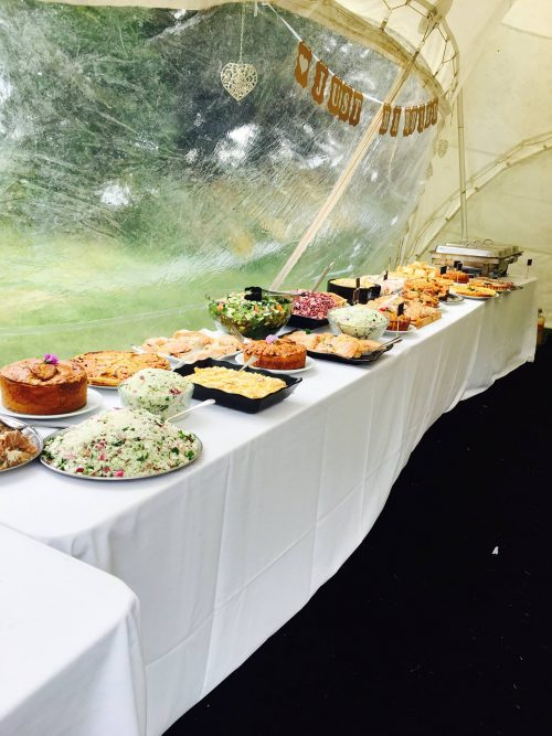Walled Garden Moreton WEDDING BUFFET