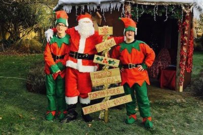 Meet and Greet with Santa at The Walled Garden Moreton