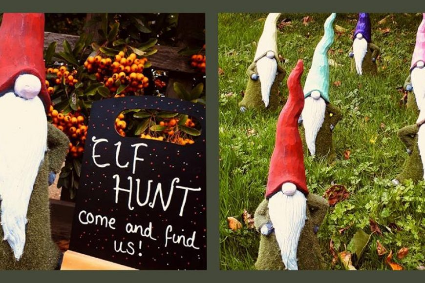 Elf Hunt at The Walled Garden Moreton