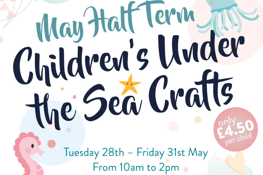 Under the Sea Half Term Crafts at The Walled Garden Moreton