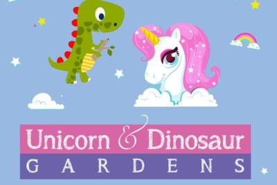 Make Your Own Unicorn or Dinosaur Mini-Garden!