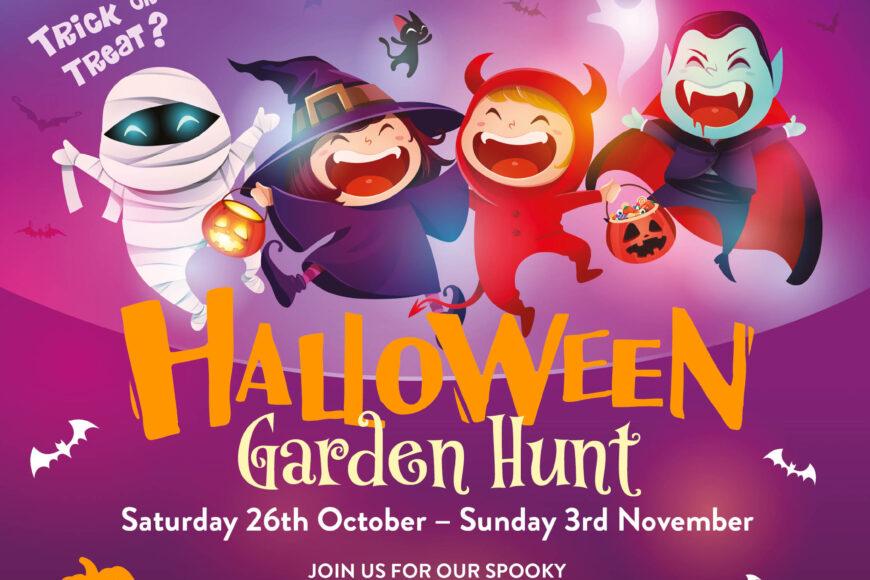 Halloween Garden Hunt