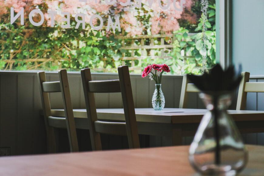 Café & Gardens Update – New Menu, Bookings, & Indoor Tables