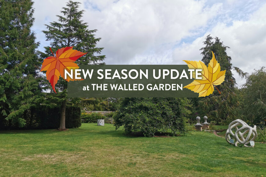 New Season at The Walled Garden