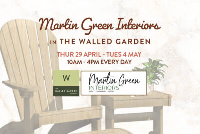 Martin Green Interiors – In The Walled Garden