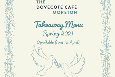 Takeaway Menu (available from 1st April)
