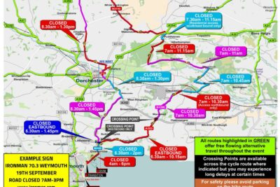 Ironman Road Closures – Café Opening Late on Sunday