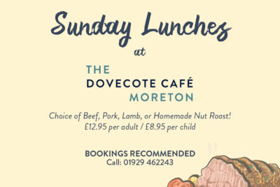 Sunday Lunches at The Dovecote Café